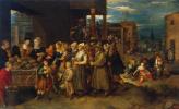Франс Франкен Младший. Семь дел милосердия. 1613-1617