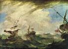 Корабли в бурю