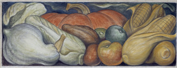 Фрагмент фрески на восточной стене Детройтского института искусств