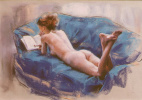 Майлз Уильямс Матис. Синий диван