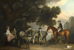 George Stubbs. Family Milbank and Melbourne