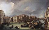 Джованни Антонио Каналь (Каналетто). Большой канал с моста Риальто