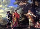 Венера является Энею в образе богини охоты