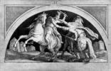 """Петер фон Корнелиус. Эскиз к циклу фресок """"Нибелунги"""" для королевского замка-резиденции в Мюнхене: Зигфрид на Саксонской войне"""