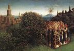 Ян ван Эйк. Гентский алтарь (фрагмент)