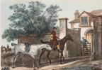 Въезд в конюшню