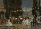 Франсуа Фламенг. Вечеринка для Жозефины.