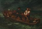 После кораблекрушения (Барка Дон Жуана - мертвое тело бросают в море)