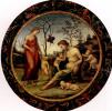 Любовь земная и небесная с Антеросом, Эросом и двумя купидонами