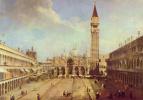 Giovanni Antonio Canal (Canaletto). Piazza San Marco