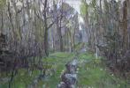 Boris Petrovich Zakharov. The spring ashes in the aspen. Etude.