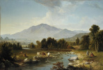 Ашер Браун Дюран. Шандакенские горы