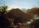 Восход солнца в горах Катскилл