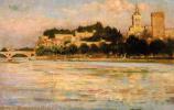 Джеймс Кэрролл Беквит. Папский дворец и мост д-Авиньон