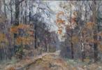 Boris Petrovich Zakharov. Late fall. Etude.