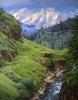 Дорога на перевал Ротанг