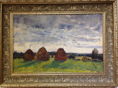 """Haymaking"", 1965., K/m, 46х68.5"