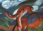 Франц Марк. Красный олень