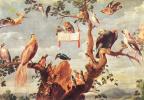 Франс Снейдерс. Птичий концерт
