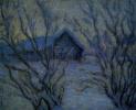 The frosty night. Etude