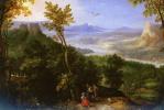Ян Брейгель Старший. Обширный пейзаж с фигурами