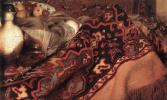Ян Вермеер. Спящая девушка. Фрагмент