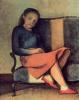 Девочка в красных туфлях
