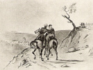 The officer on horseback and Amazon