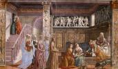 Доменико Гирландайо. Рождение Марии
