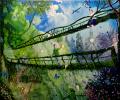 """""""Охота на бабочек с подвесного моста"""""""