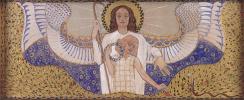 Koloman Moser. Am Steinhof Church, Design for the right side altar Guardian angel