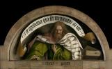 Ян ван Эйк. Гентский алтарь с закрытыми створками (фрагмент)