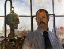 Автопортрет со скелетом