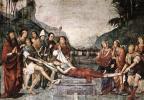 Франческо Франча. Погребение Св. Сесили