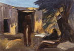 Мартирос Сергеевич Сарьян. Вечер в саду. 1903