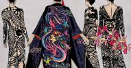 "Kimono. ""Thirteen Orchids for the Empress"""