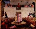 Центральный алтарь святых Косьмы и Дамиана из доминиканского монастыря Сан Марко во Флоренции, основание триптиха, четвертая сце