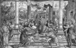 Бернард ван Орлей. Ромул дает законы римскому народу