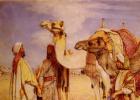 Джон Фредерик Льюис. Приветствие в пустыне, Египет