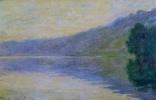 Клод Моне. Сена в Порт-Виллез, гармония в голубом