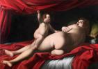 Джованни Бальоне (Баглионе). Венера, наказанная Любовью (Амур, бьющий Венеру)