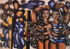 Fernand Leger. Adam and eve