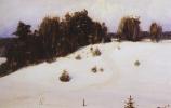 Василий Дмитриевич Поленов. Зима