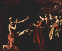 Цикл картин для монастыря конгрегации св. Иеронима в Гуадалупе. Искушение св. Иеронима