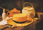 Винсент Ван Гог. Натюрморт с соломенной шляпой и трубкой