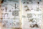 """Леонардо да Винчи. Страница из """"Трактата о живописи"""""""