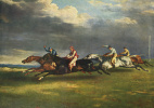 Horse racing at Epsom