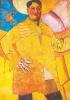 """Self portrait """"a Great artist"""" (Le Grand Peintre)"""