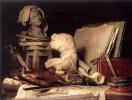 Арибуты рисования, скульптуры и архитектуры