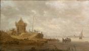 Ян ван Гойен. Форт на реке